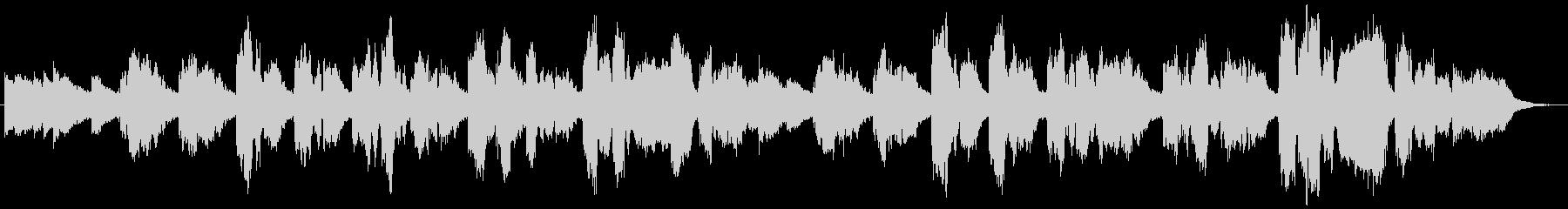 ソプラノコーラス原語のドイツ語での未再生の波形