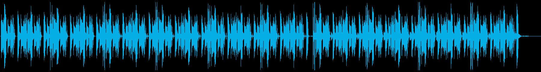 エレピをフィーチャーした短めのブルースの再生済みの波形