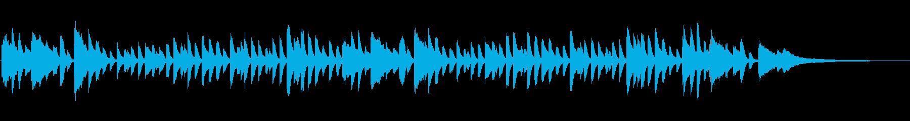 童謡「かたつむり」シンプルなピアノソロの再生済みの波形