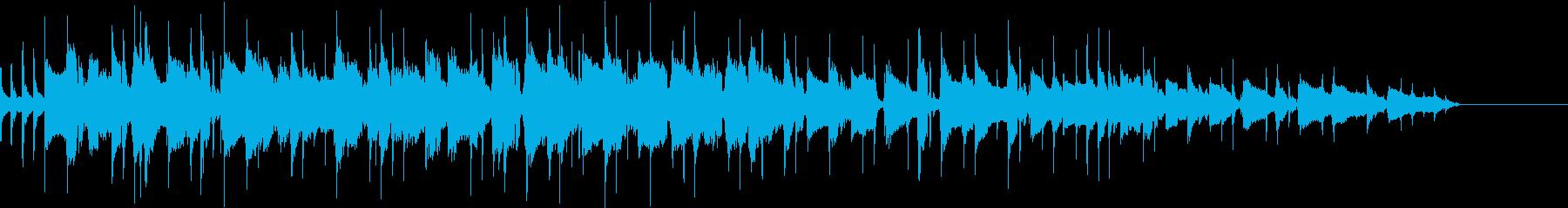 バウンドサウンド邦ロック風OP用BGM2の再生済みの波形