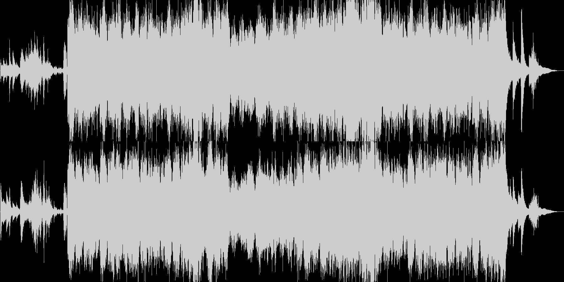 優雅なアコーディオンの未再生の波形