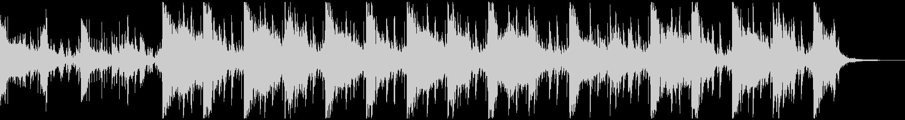 不気味の声が聞こえる現代的ポップホラーSの未再生の波形