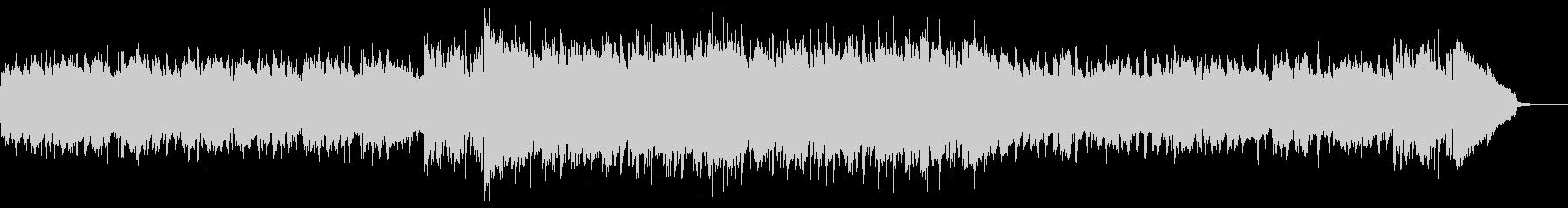 わくわくする夏のラジオCM用ディスコの未再生の波形