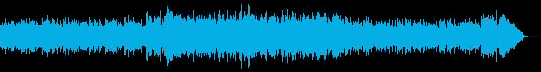 わくわくする夏のラジオCM用ディスコの再生済みの波形