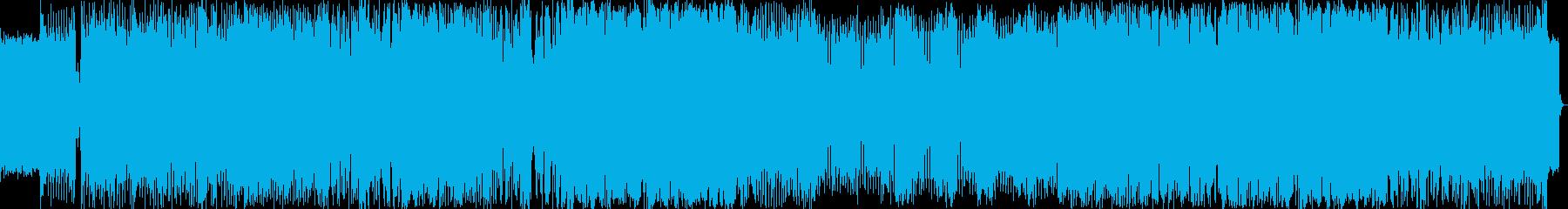 エレクトロハウスをイメージした楽曲です。の再生済みの波形