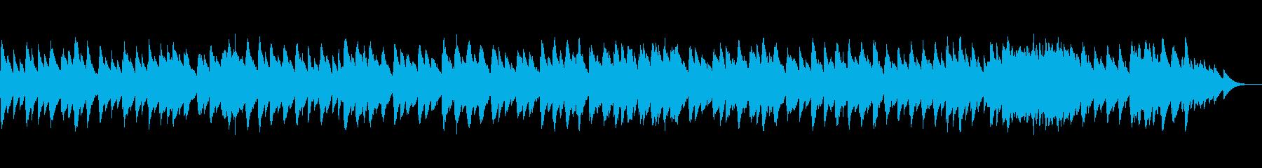 癒しのオルゴール風〜春の小川〜の再生済みの波形