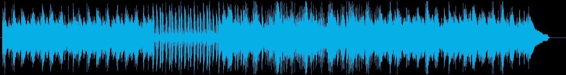 すがすがしい朝のアコギBGMの再生済みの波形