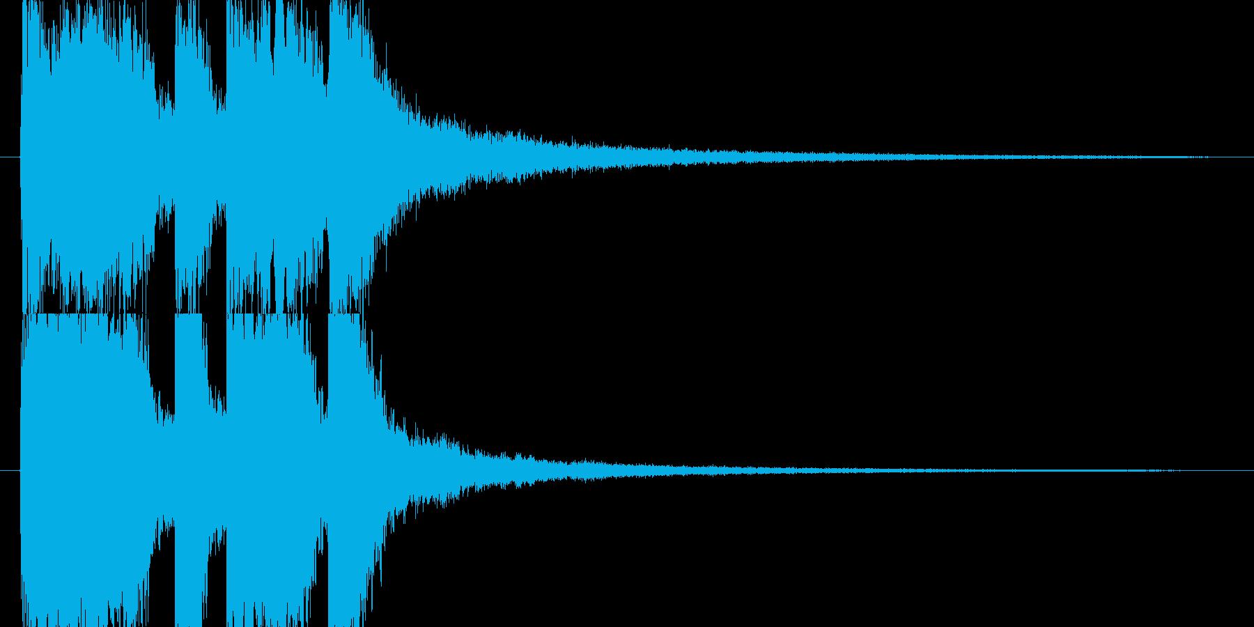 レベルアップやクリア時のSEの再生済みの波形