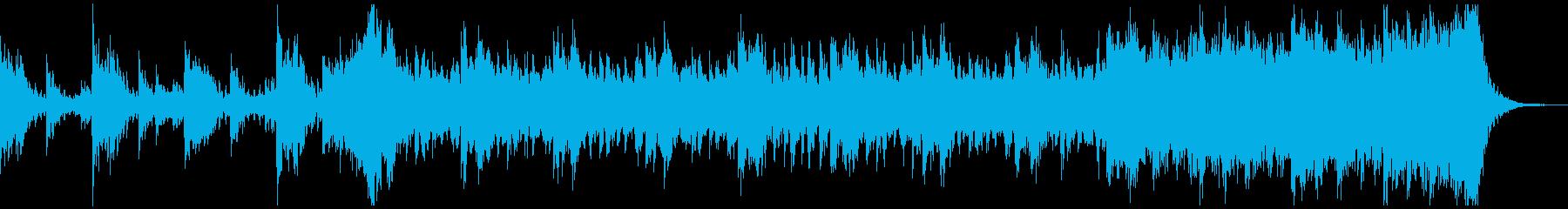 危機的状況をイメージしたトレイラー音楽の再生済みの波形