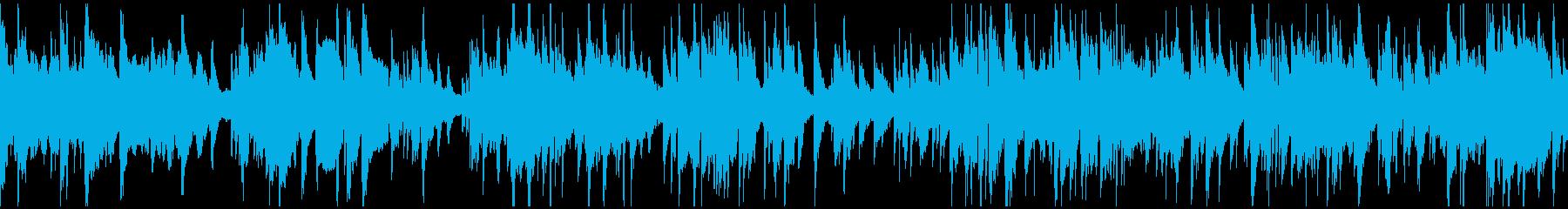 ジャズラウンジゆったりバラード※ループ版の再生済みの波形