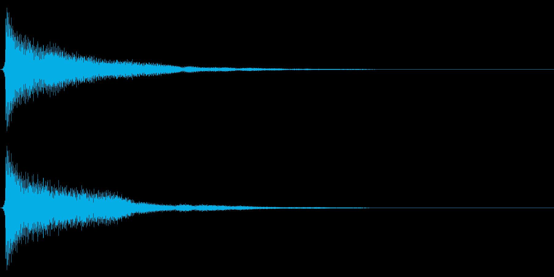 時計搭/時報/ゴーン/鐘/単発の再生済みの波形