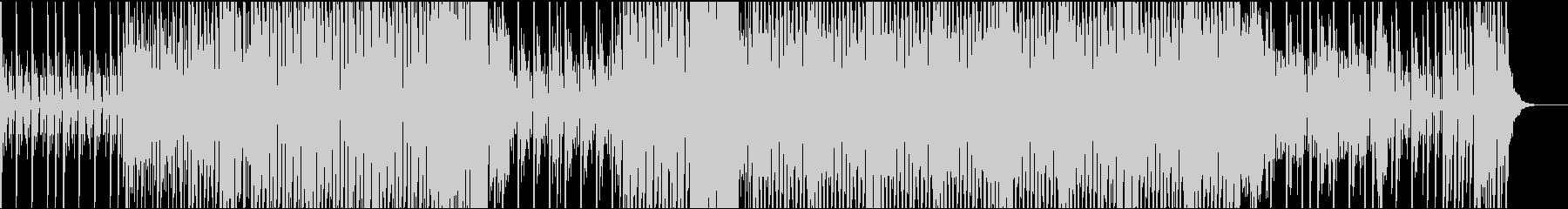 爽やかなガラージュハウスの未再生の波形