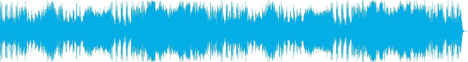 緊張感のあるフルオーケストラの再生済みの波形