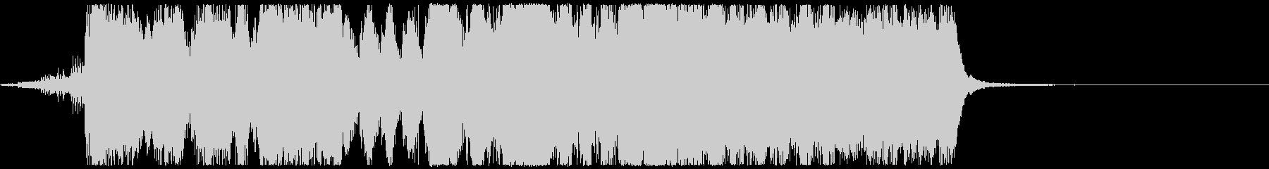 金管6重奏と打楽器によるファンファーレの未再生の波形