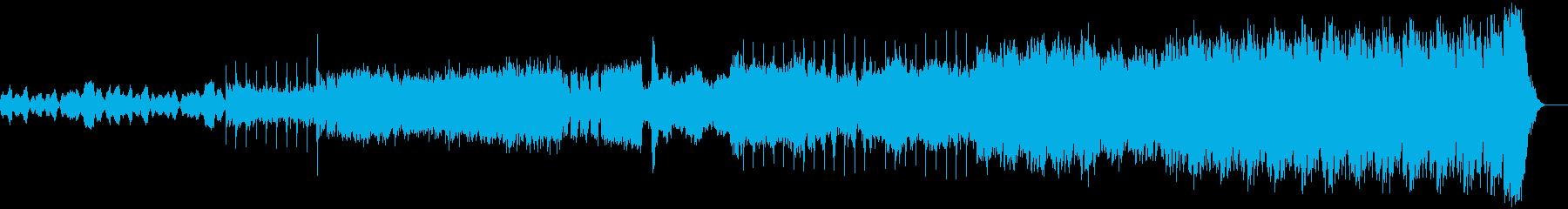 ドラマチックな映画/オーケストラア...の再生済みの波形
