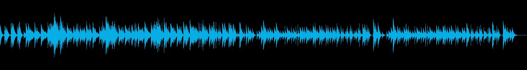 J.シュトラウスⅡ「春の声」オルゴールの再生済みの波形