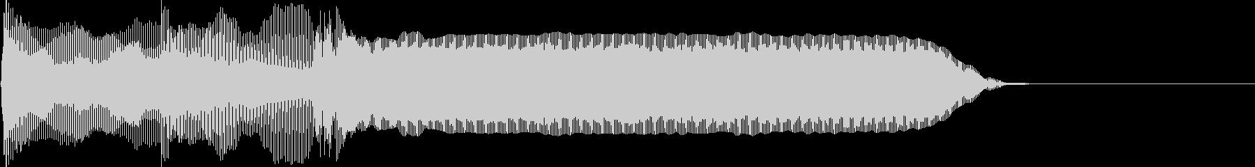 ピロリーン(ゲーム起動/決定/スタート)の未再生の波形