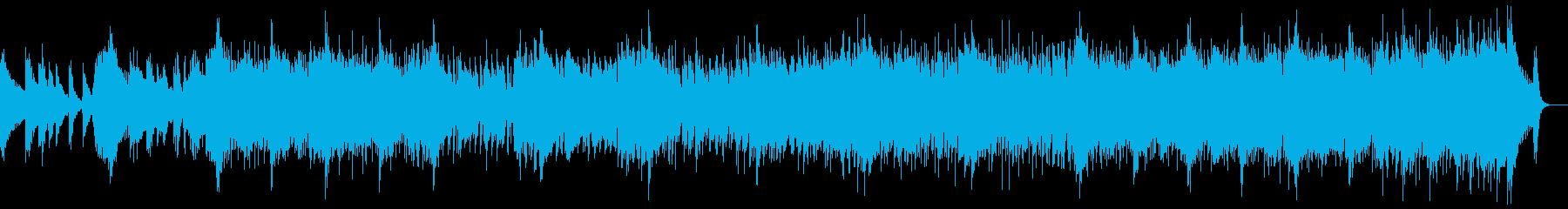 和風・和楽器・忍者ヒーロー:和楽器のみの再生済みの波形