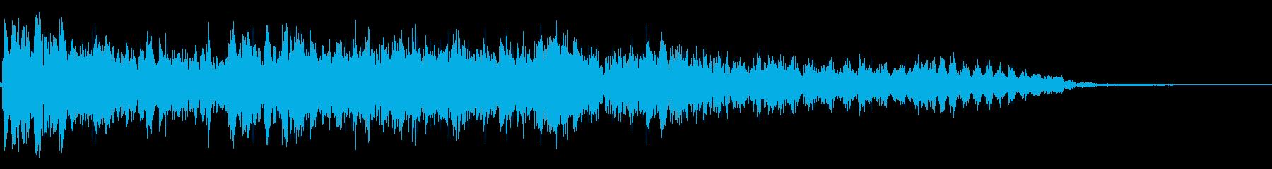 ビリビリ!バチバチ!(電撃・放電音)の再生済みの波形