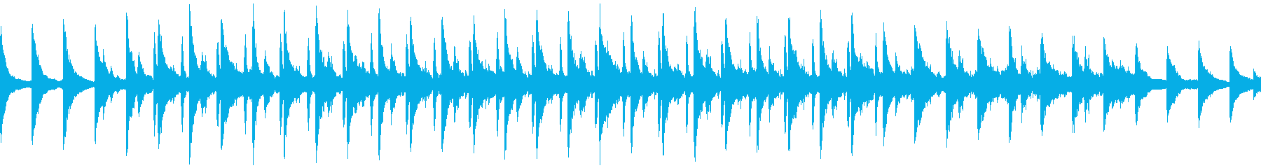 夕暮れの坂道 Lofi/Vlog/ループの再生済みの波形
