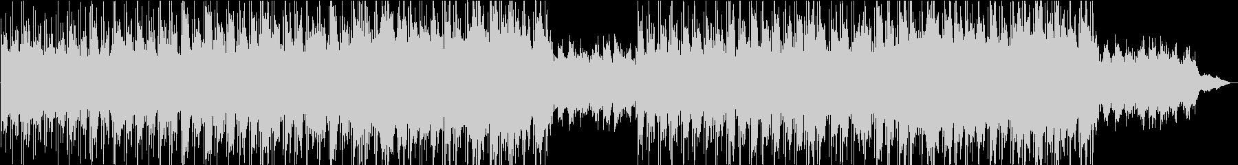物語の始まりに合うキラキラとしたピアノの未再生の波形