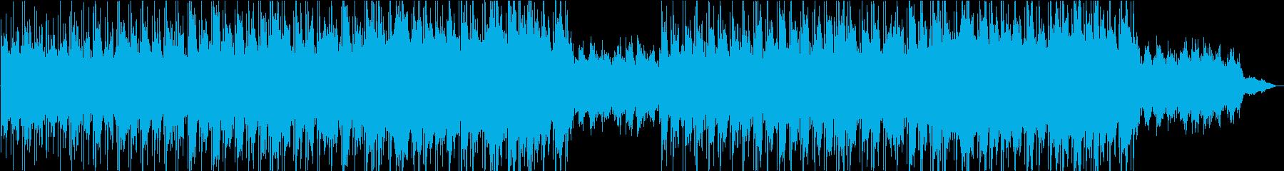 物語の始まりに合うキラキラとしたピアノの再生済みの波形