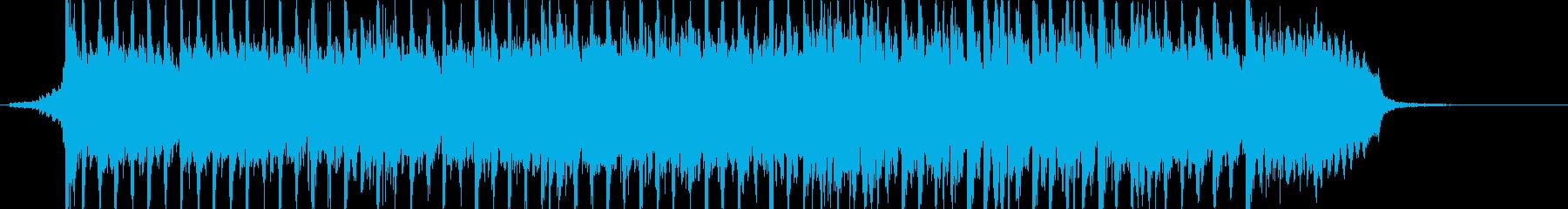 なんかダサいけど勢いはあるアニメ曲の再生済みの波形