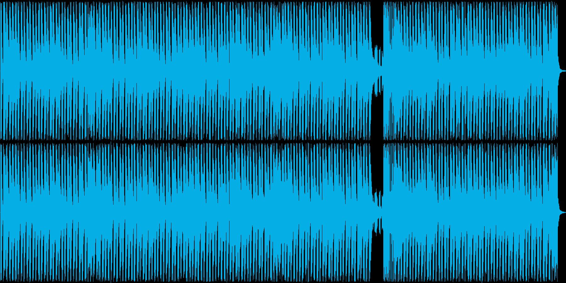 メロディーは暗いけど、軽快な曲ですの再生済みの波形