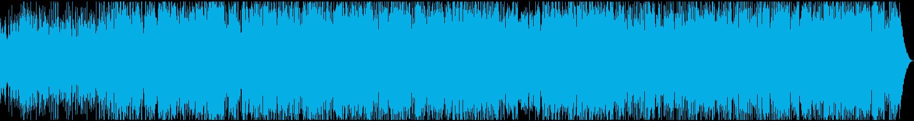 元気に力強く奏でるポップ・ロックの再生済みの波形