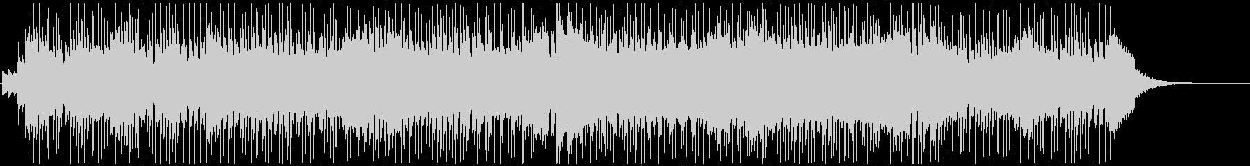 童謡「かえるの合唱」のロックバージョンの未再生の波形