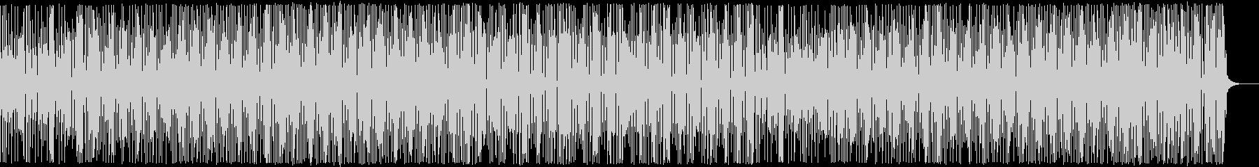 三味線・お江戸・和風テクノ・かけ声ありの未再生の波形