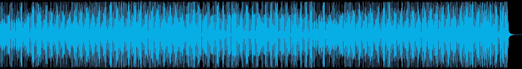 三味線・お江戸・和風テクノ・かけ声ありの再生済みの波形