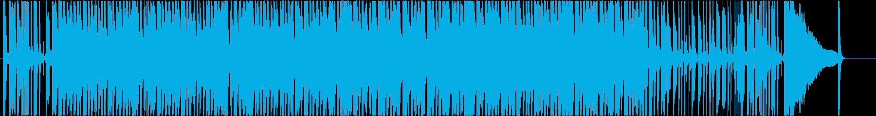 冬っぽいベルの音を使ったスイングなポップの再生済みの波形