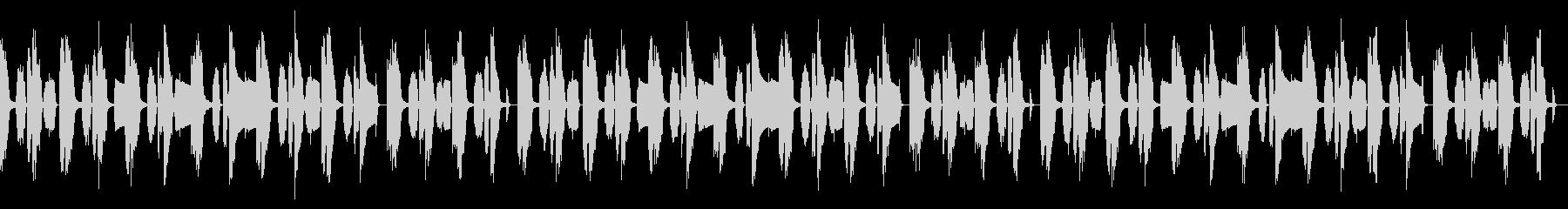 動画向け/ほのぼの/オルガン主体の未再生の波形