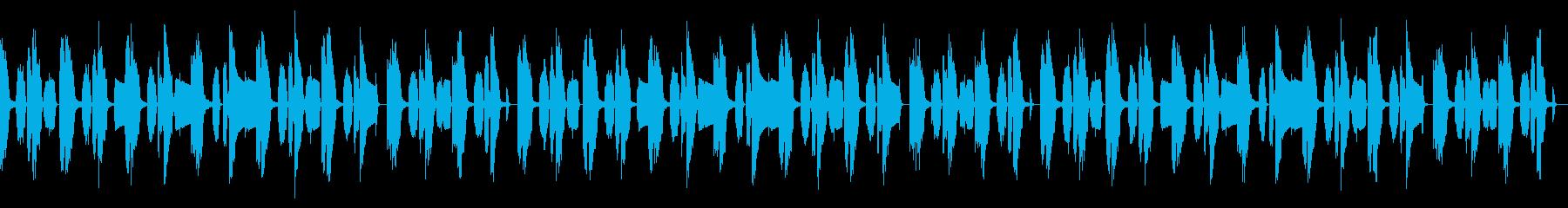 動画向け/ほのぼの/オルガン主体の再生済みの波形
