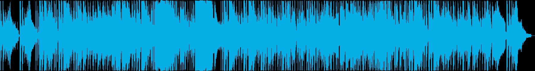 素敵でさわやかなスローファンクの再生済みの波形
