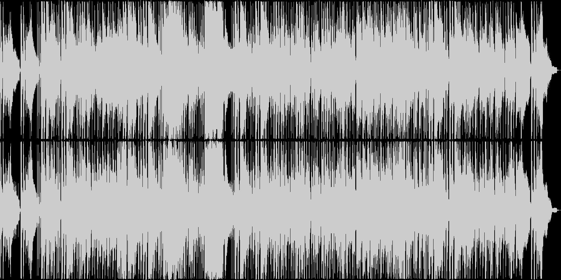 素敵でさわやかなスローファンクの未再生の波形