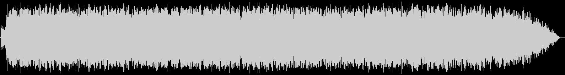透き通る高音の竹笛のヒーリング音楽の未再生の波形