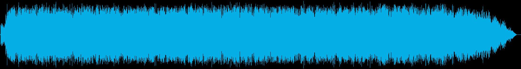 透き通る高音の竹笛のヒーリング音楽の再生済みの波形