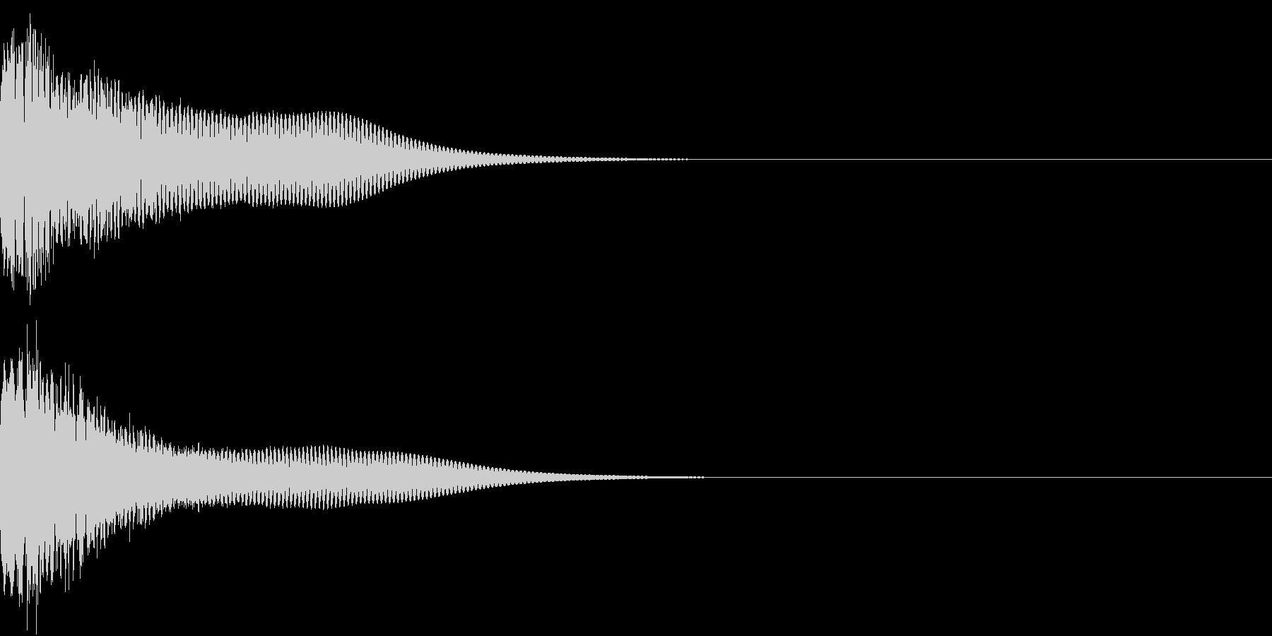 光る キュイーン ピカーン キラン 04の未再生の波形