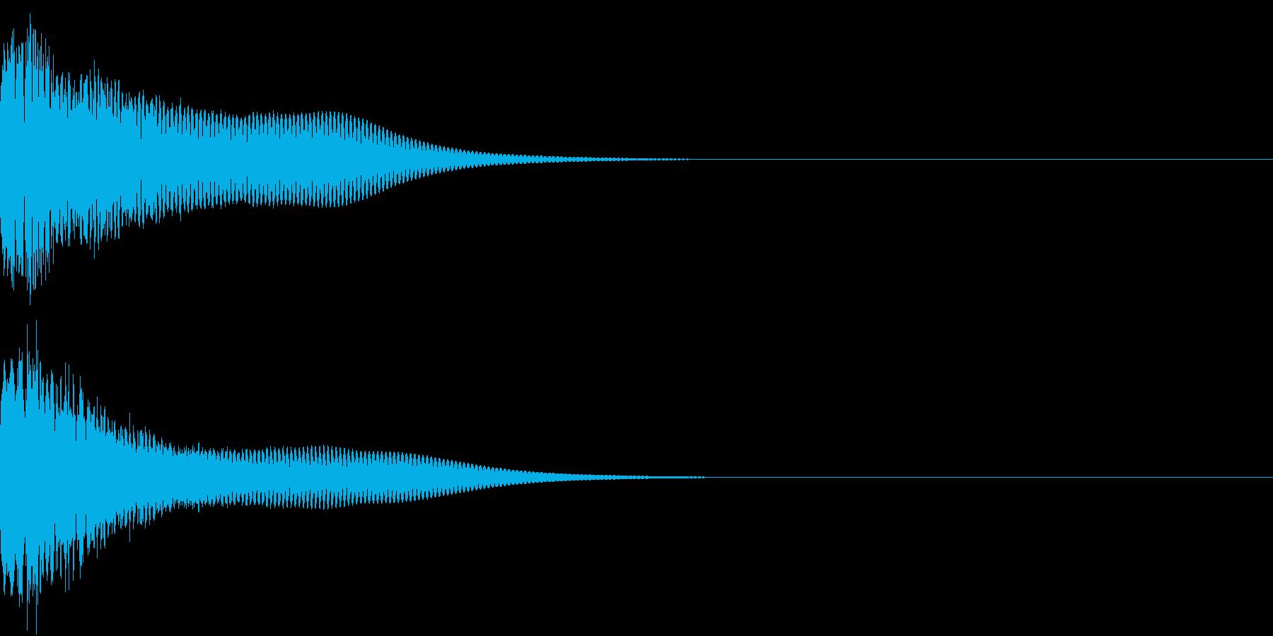 光る キュイーン ピカーン キラン 04の再生済みの波形