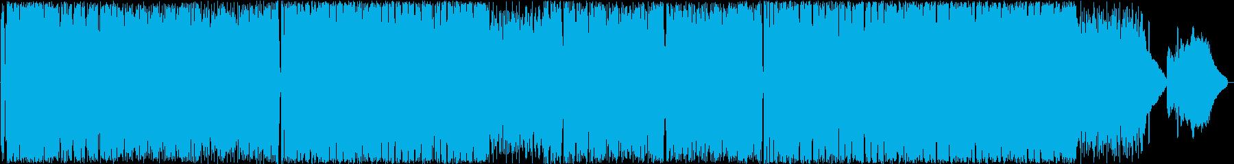 人生の放浪者への応援歌PUNKROCKの再生済みの波形