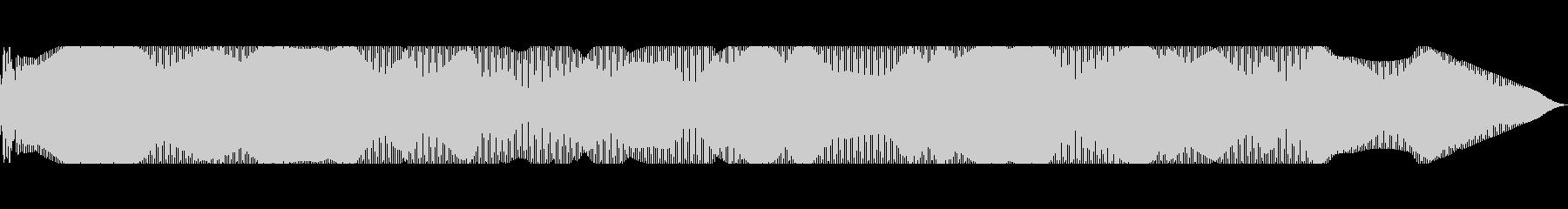 信号ローミングによるスキャナーの電源投入の未再生の波形