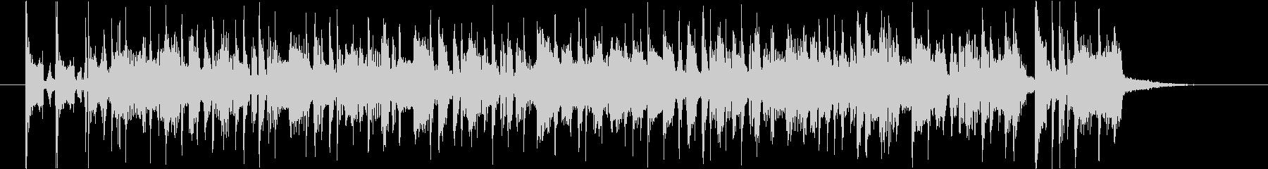 Lo-Fiサウンドなボサノバの未再生の波形