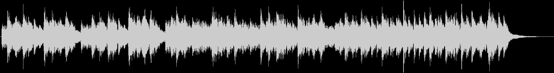 4ビートジャズのジングルの未再生の波形