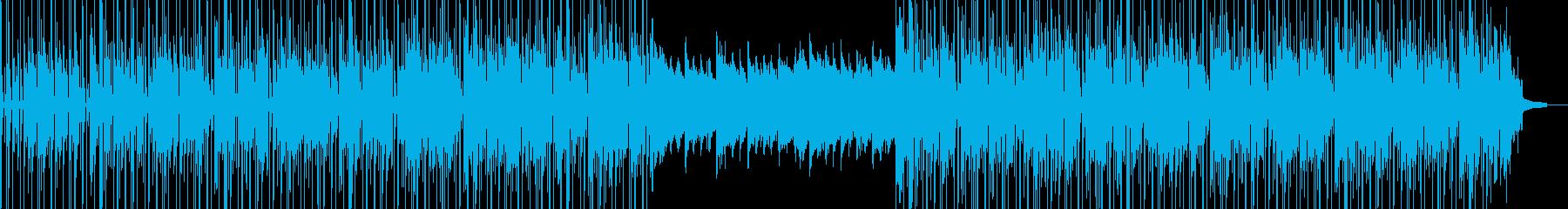 サスペンスと緊張。合成倍音の歌とし...の再生済みの波形