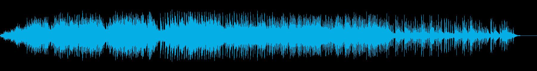 ノスタルジックなピアノソロの再生済みの波形