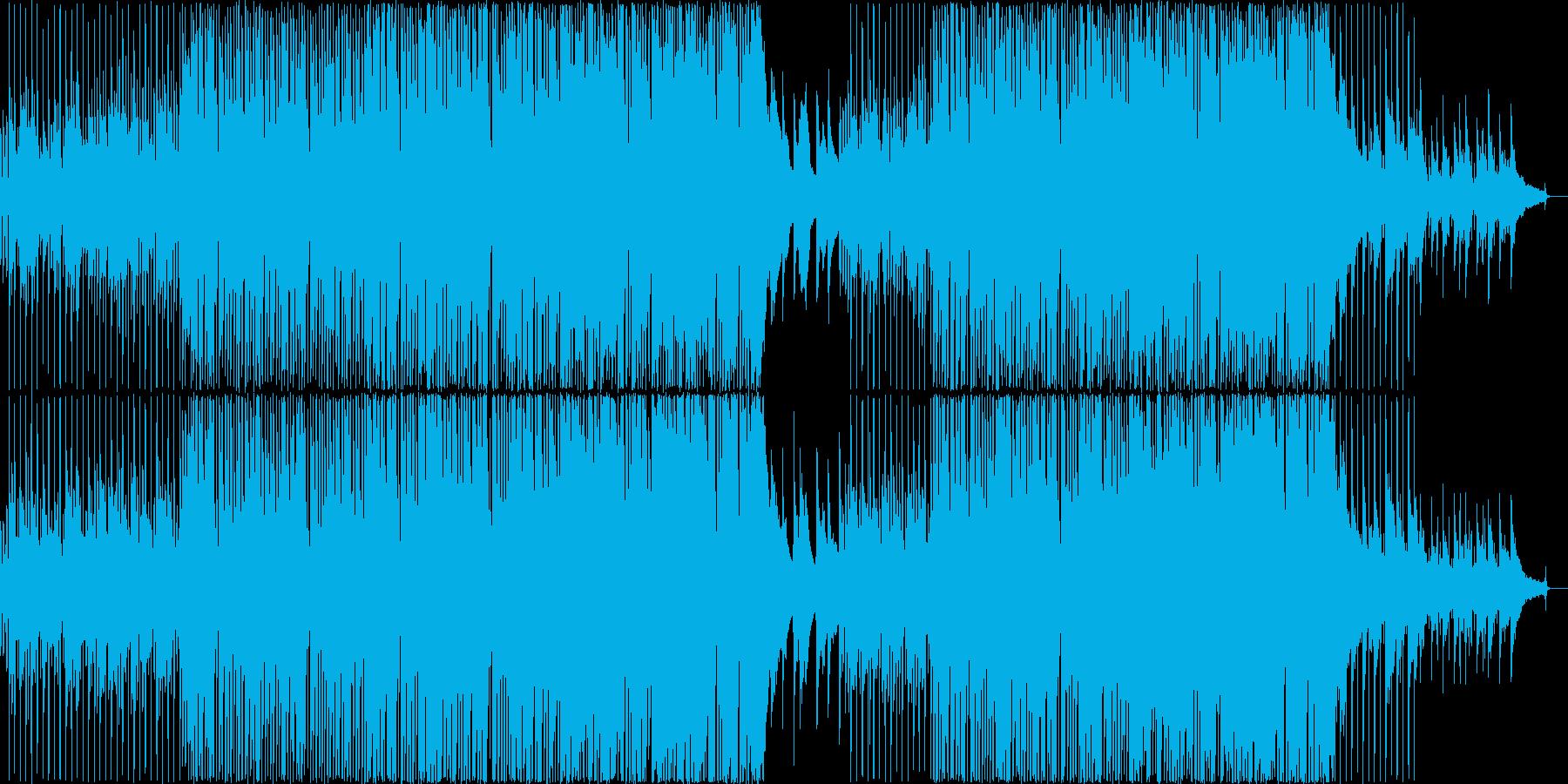 爽やか13の再生済みの波形