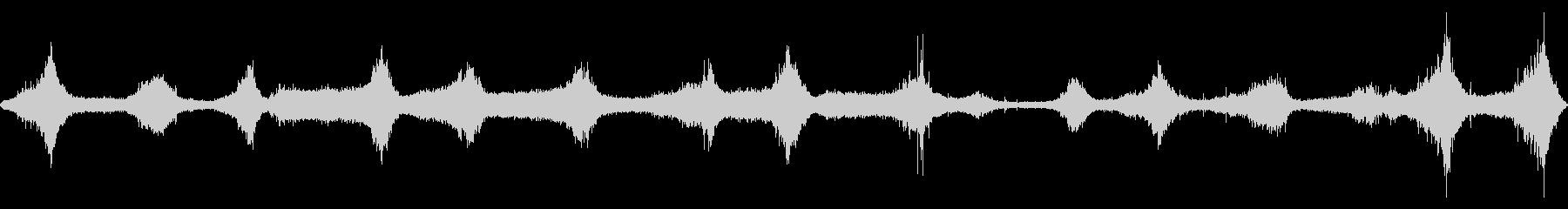 【四国最東端】蒲生田岬の波音 01の未再生の波形