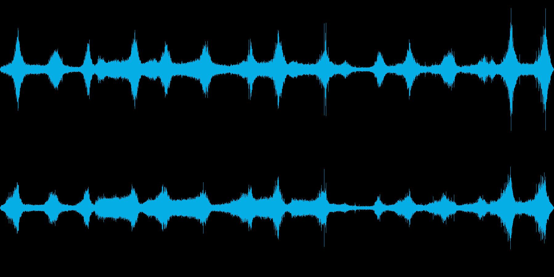 【四国最東端】蒲生田岬の波音 01の再生済みの波形